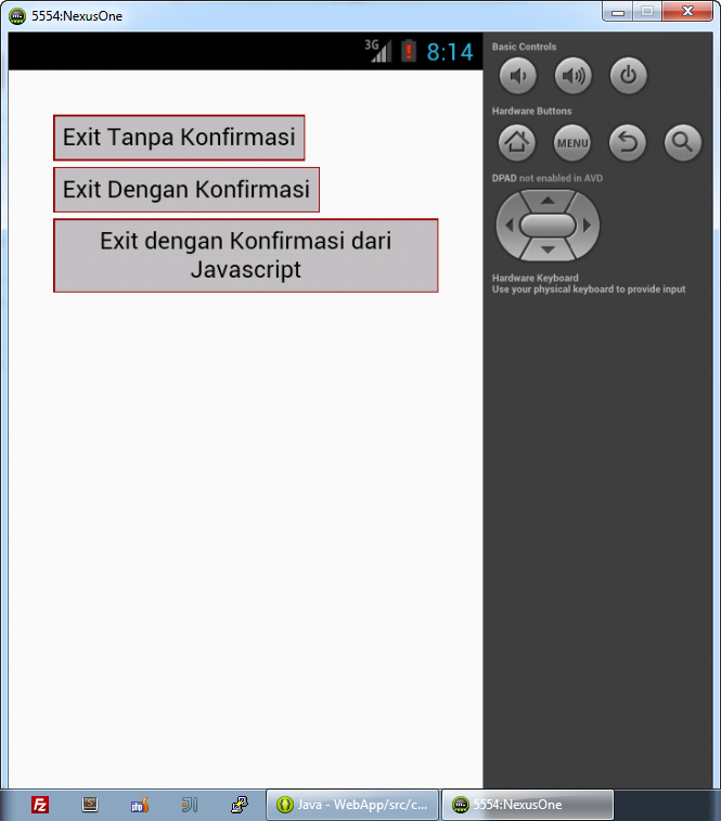 Tombol HTML Sederhana