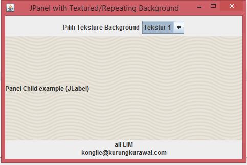 TexturedJPanel